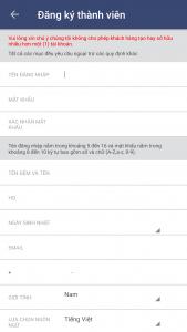 Cách đăng ký tài khoản M88 trên điện thoại 7