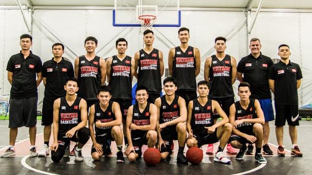 Chốt danh sách cầu thủ U20 sẽ dự giải giao hữu FIBA 1