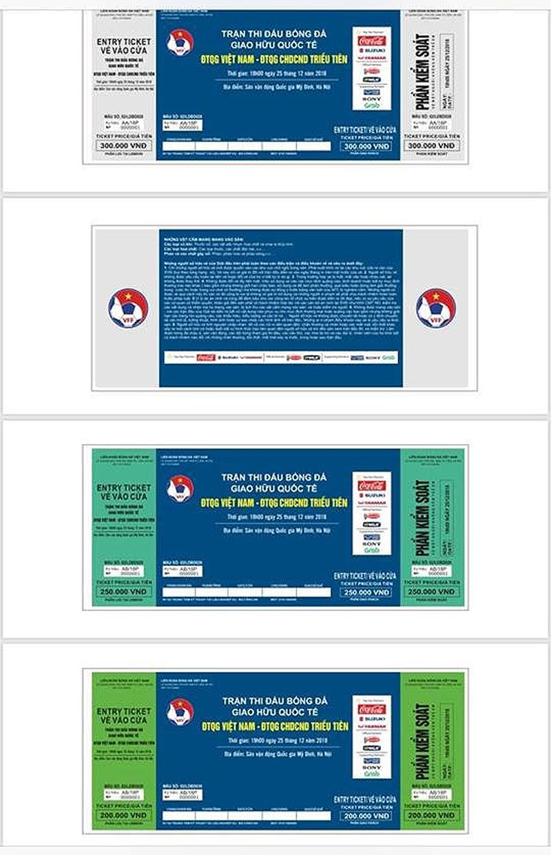 Mở bán vé trận giao hữu Việt Nam - Triều Tiên 2