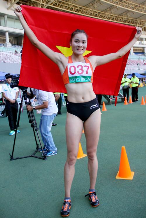 Quách Thị Lan giành 3 HCV ở 19th ASEAN University Games. 2