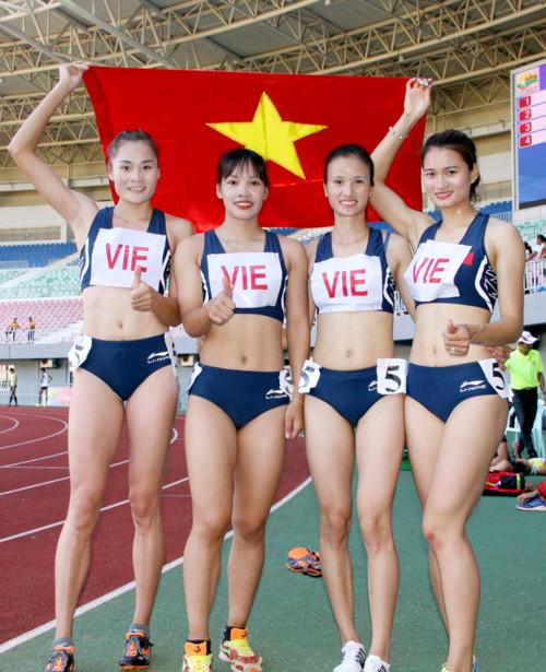 Quách Thị Lan giành 3 HCV ở 19th ASEAN University Games. 6
