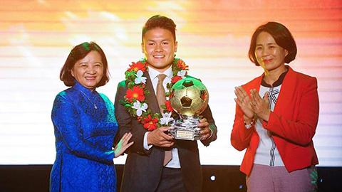 Quang Hải giành Quả bóng Vàng 2018 1