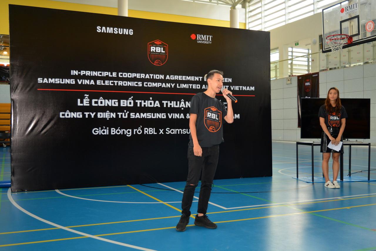 Samsung Vina tài trợ 5 năm cho Giải Bóng rổ RBL 2