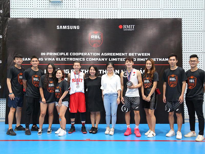 Samsung Vina tài trợ 5 năm cho Giải Bóng rổ RBL 1