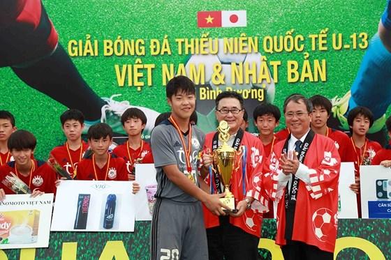 Tokyu S Reyes vô địch U13 Việt Nam - Nhật Bản 4