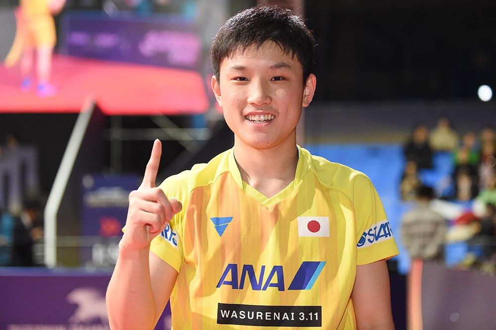 Tomokazu Harimoto - ngôi sao trẻ của bóng bàn thế giới 1