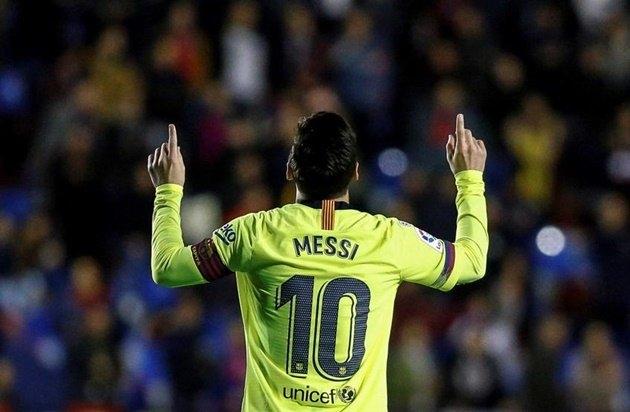 Video tổng hợp bàn thắng - Messi lập hat-trick trong ngày Barcelona vùi dập Levante 2