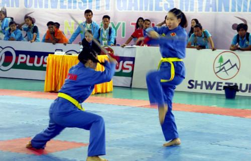 Việt Nam giành 31 HC tại 19th ASEAN University Games 4