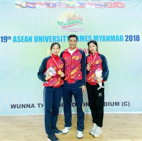 Việt Nam giành 31 HC tại 19th ASEAN University Games 9