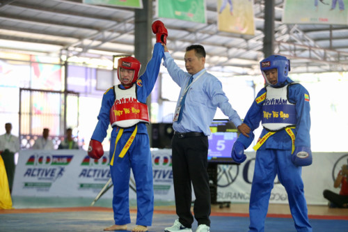 Việt Nam giành 31 HC tại 19th ASEAN University Games 1