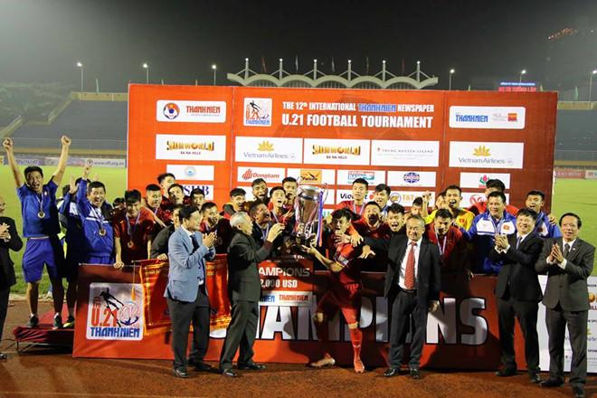 Việt Nam vô địch giải U21 quốc tế 2