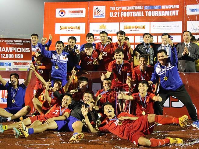 Việt Nam vô địch giải U21 quốc tế 1