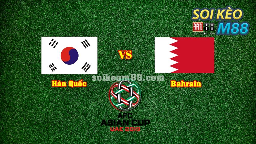 Giải mã tỷ lệ kèo, dự đoán tỉ số trận Hàn Quốc vs Bahrain 1