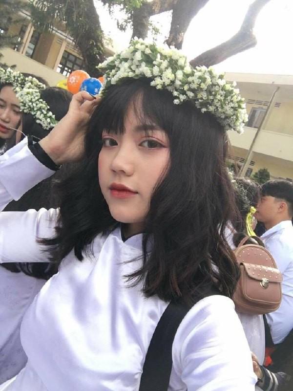 Gái xinh mặc áo dài trắng đẹp dịu dàng duyên dáng Việt Nam 26