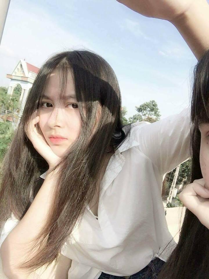 Gái xinh mặc áo dài trắng đẹp dịu dàng duyên dáng Việt Nam 8