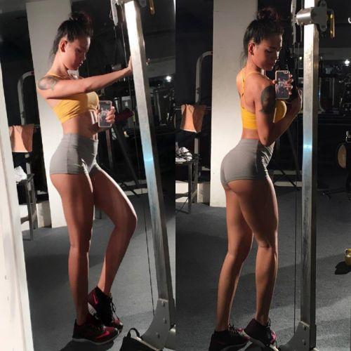 gái xinh tập gym 18