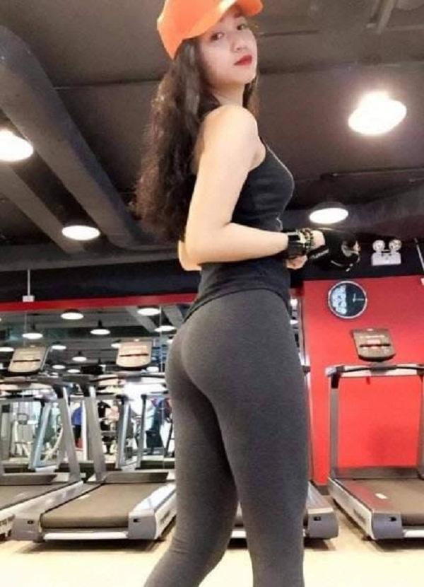 gái xinh tập gym 6