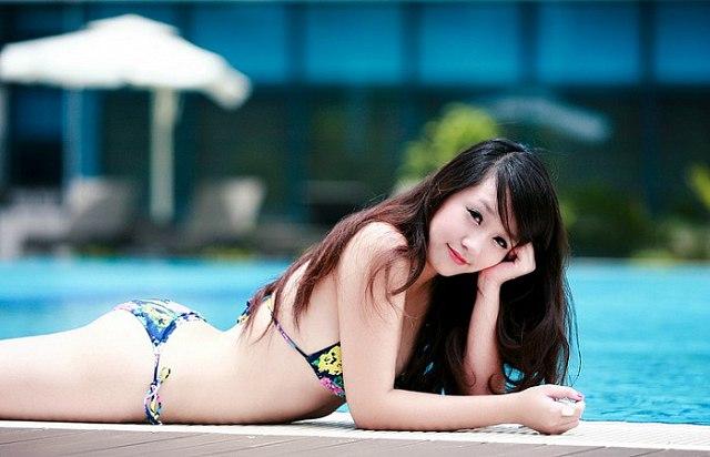 Hình ảnh gái xinh Bikini gợi cảm vóc dáng sexy nuột nà 1