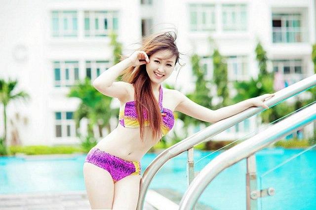 Hình ảnh gái xinh Bikini gợi cảm vóc dáng sexy nuột nà 15