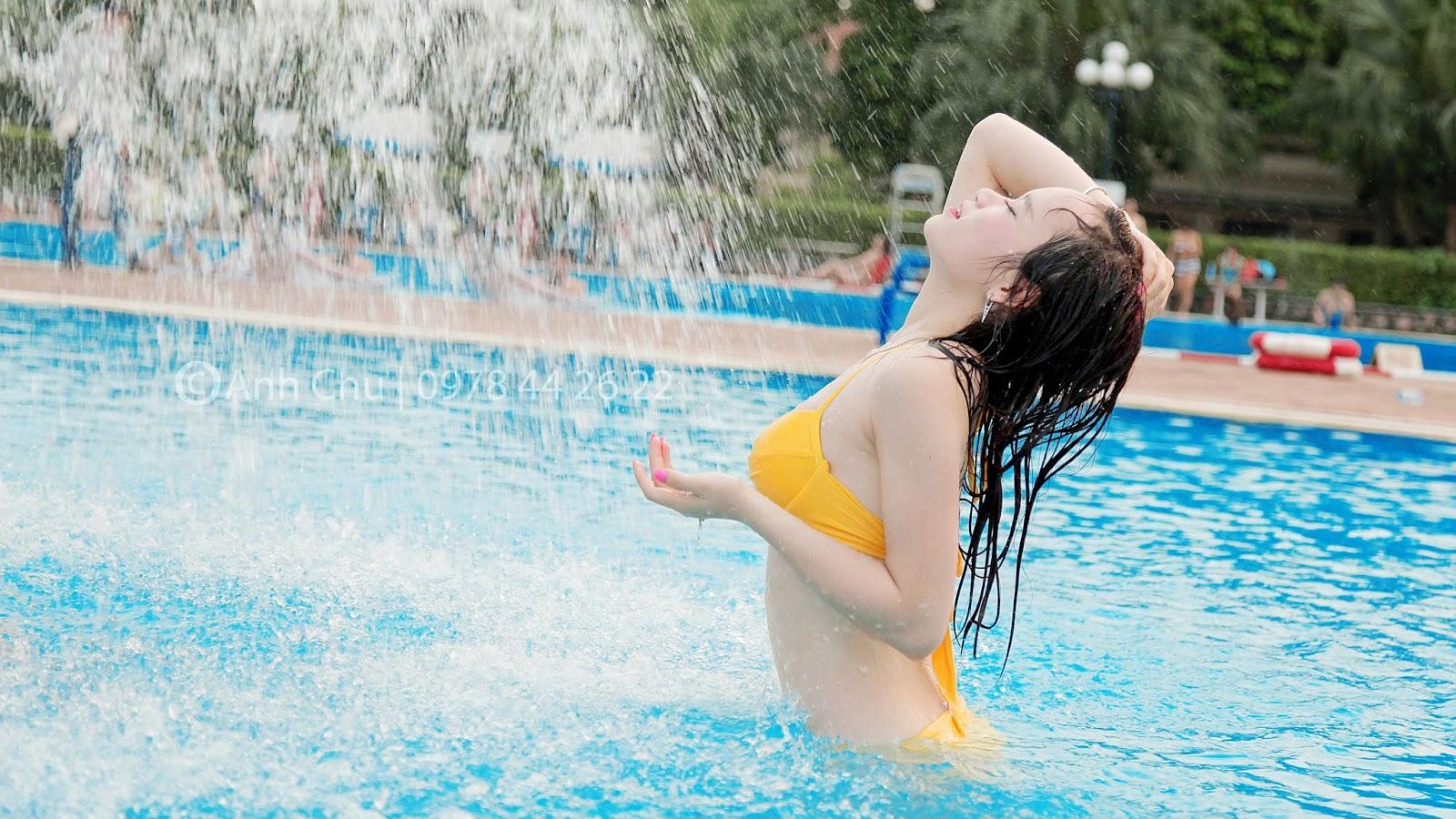 Hình ảnh gái xinh Bikini gợi cảm vóc dáng sexy nuột nà 25