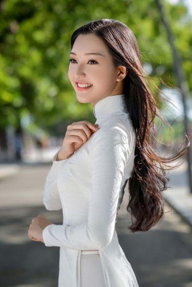 Hình nền gái xinh áo dài, ảnh gái đẹp hot girl dễ thương 24