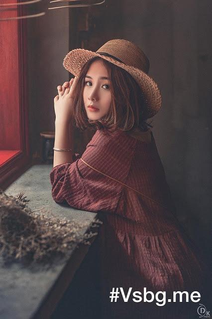 Hình nền gái xinh áo dài, ảnh gái đẹp hot girl dễ thương 39