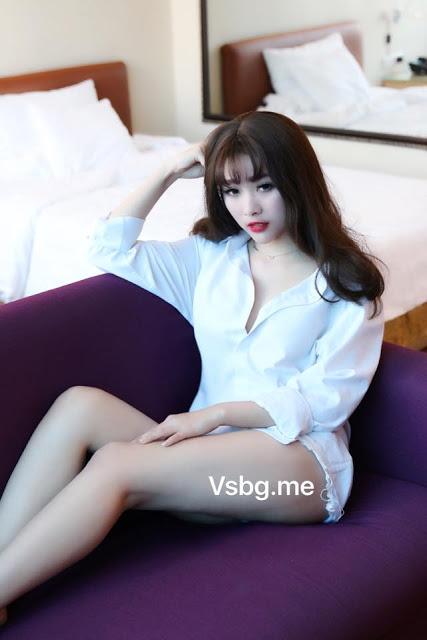 Hình nền gái xinh áo dài, ảnh gái đẹp hot girl dễ thương 50
